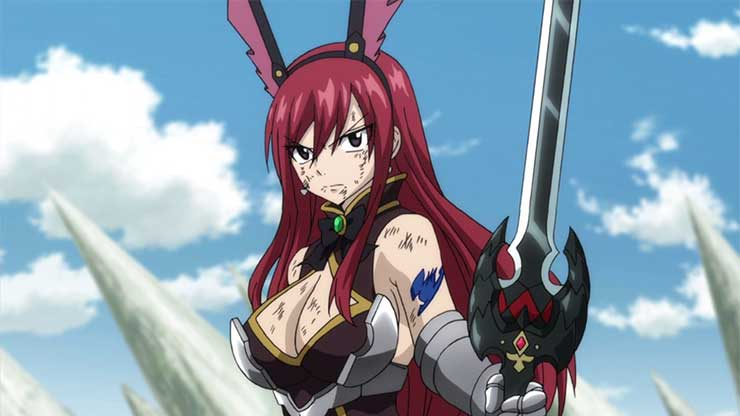 fairy tail female characters