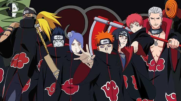 Top 10 Strongest Akatsuki Members