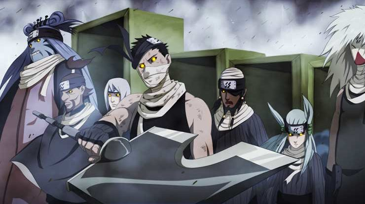 seven ninja swordsmen of the mist