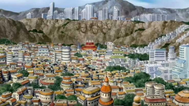 hidden villages in naruto